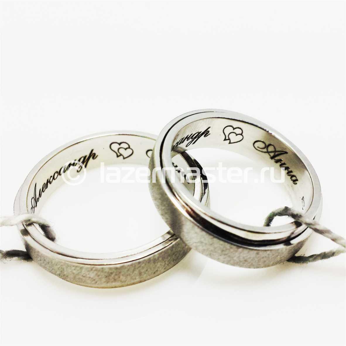 Обручальные кольца по низким ценам